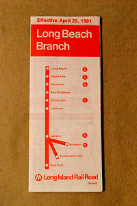 Long Island Railroad - Long Beach Branch - April 29, 1991