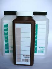 KAISER SET OF 3 PHOTOGRAPHIC CHEMICAL STORAGE BOTTLE 1 LTR THREE 1000CC BOTTLES
