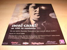 NEAL CASAL - NO WISH TO REMINISCE!!!FRENCH PRESS ADVERT
