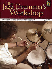 Jazz Drummer's Workshop Learn to Play Drums John Riley Music Book & CD