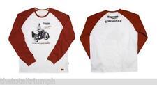 GENUINE Triumph Mens T Shirt McQueen #2 BNWT 50% OFF XL ONLY!