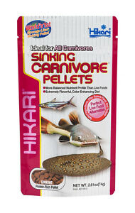 HIKARI SINKING CARNIVORE PELLETS 2.61 OZ FOOD. FREE SHIPPING TO THE USA ONLY