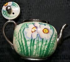 Vintage Sudlows Burslem England Tea Pot Floral 4 cup R Sudlows & sons