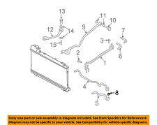 SUBARU OEM 92-97 SVX Pump Hoses-Steering-Return Hose Clamp 909170023