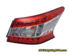 TYC NSF Right Side Tail Light Lamp Assembly for Nissan Sentra 2013-2014