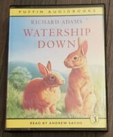 Watership Down Richard Adams 4 Cassette Puffin Audiobook
