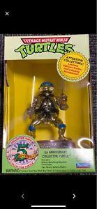 Gold Leonardo Turtles Figure