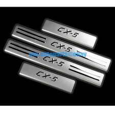 PM 304 Stainless Steel Door Sill Scuff Protector Plate New for Mazda CX-5 2014