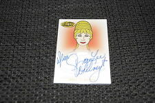 STAR TREK Animated Adventures TC  A12 Autogramm signed GRACE LEE WHITNEY (+ ´15)