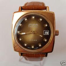 GUB Glashutte Glashütte spezimatic automatic date cal 75 (26 rubis) Men`s Watch