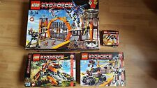 27 LEGO SETS Lego Exoforce Joblot - massive collection - boxed/manuals/minifigs