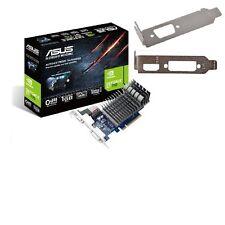 Basso profilo Asus NVIDIA GeForce GT 710 2 GB Scheda grafica VGA / DVI / HDMI 710-2-sl