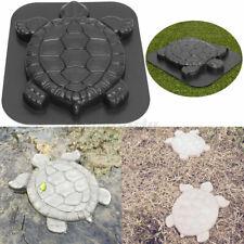 Turtle Shape Stepping Stone Mold Tortoise Concrete Cement Mould Garden Path Pad
