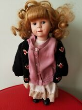 Vintage Child Doll Brittany Numbered 1999