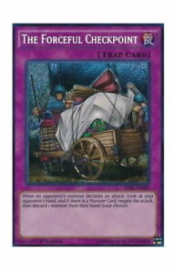 YuGiOh Card - The Forceful Checkpoint TDIL-EN080 1st Ed. Secret Rare
