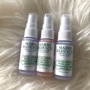 MARIO BADESCU   Facial Spray 3x 29ml   NEW 87ml Aloe Chamomile Lavender   NEW