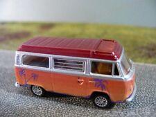 1/87 Brekina VW t2 bus tramonto tetto rosso scuro modello speciale HOT bulli