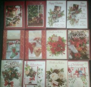 XMAS CARD*CHRISTMAS*LOVELY DESIGNS*TRADITIONAL*HEARTS*SNOWMAN*ROSES*CHOOSE*