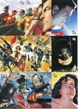 DC Legacy Alex Ross 9 Chase Card Set AR1 -AR9 DC Comics