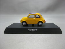 1:64 Kyosho FIAT 500F Yellow Diecast Model Car Minicar Collection