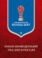 FIFA Confederations Cup Russland 2017 overprinted Bogen Uberdruck in Sonderpack