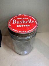 VINTAGE BUSHELLS INSTANT COFFEE JAR (2-107)
