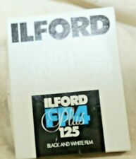 "ILFORD FP4-Plus 125 ASA 4""X5"" Black & White Film one 25-Sheet Box Always Frozen"