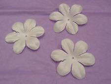 10 pétales ivoire fleur en tissu accessoire cheveux de mariage pour mariée DIY