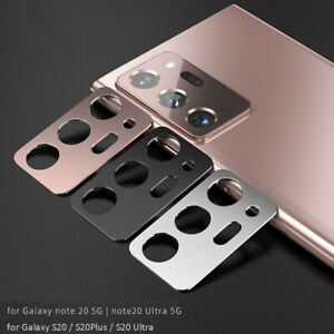 Metal Camera Lens Protector for Samsung Galaxy Note 20 S20 S21 Plus S21Ultra