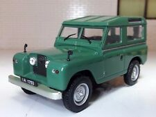 1:43 Scale Model Land Rover Series 2 2a 88 SWB Green Station Wagon Oxford Type