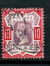 Gb Victoria Fine Used Sg 210 10d Purple & Red mark as scan