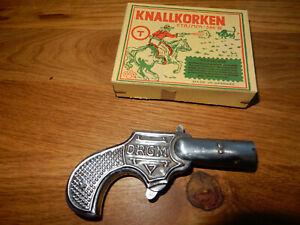 Knallkorken Pistole  mit 20 Original Knallkorken