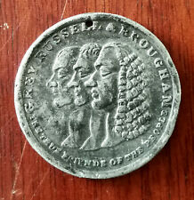 More details for grey russell & brougham true friends of the people reform bill antique coin 1832