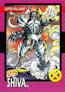 SHIVA / X-Men Series 1 (Impel 1992) BASE Trading Card #50