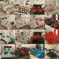Luxury 3D Printed Duvet Quilt Cover & Pillowcases Set Bed Bedding Home Hotel