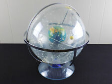 Vintage Hubbard Scientific Universal Transparent Celestial Globe plastic chrome