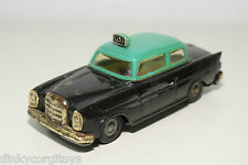 TINPLATE BLECH PEPE PORTUGAL MERCEDES BENZ 220 SE TAXI EXCELLENT CONDITION