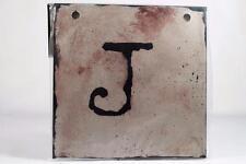 """Words To Live By Sherri Ohler 6"""" Alphabet Tiles Letter 'J' #101789 Demdaco NEW"""