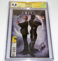 Black Panther #1 CGC SS Signature STAN LEE Autograph Collectibles MEFCC Variant