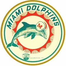 Miami Dolphins  NFL AFL Football 1966 Vintage Looking Sticker Decal