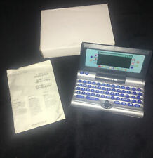 New Merlin 2 Vintage 90's Electronic PDA Pocket Diary Organizer Calculator Games