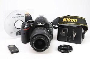 Nikon D5100 DSLR Camera & Nikon AF-S 18-55mm VR Lens Kit + 1080p HD +8,541 Shots