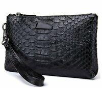 Women Leather Wallet Luxury Designer Female Crocodile Pattern Clutch Purse