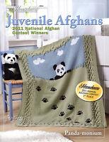 Juvenile Afghans, Herrschners 2011 Contest Winners ~ 3 crochet & 1 knit patterns