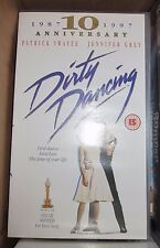 Dirty Dancing film video cassette tape VHS - Patrick Swayze Jennifer Grey