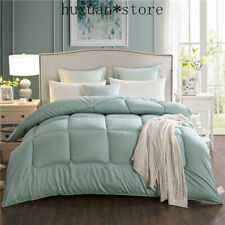 Winter Thicken Comforter Colorful Thick Duvet Quilt Warm Winter Bed Cover Bedset