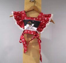 Mary Engelbreit Dress Bib Collar Little Girls Size 4 6 Christmas Polar Bear