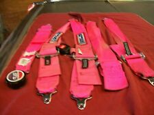USED RJS CAMLOCK HARNESSES PINK   EXPIRED FOR TRACK
