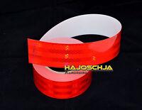 """Reflektorfolie """"3M"""" Konturmarkierung rot 55 mm breit Reflektor selbstklebend"""