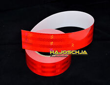 """Reflecting foil """"3M"""" Contour marking red 2 3/16in wide Self-adhesive reflector"""